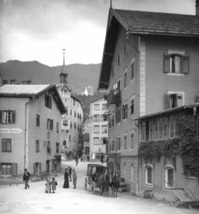 Schwaz, in the Lower Inn Valley, around 1910. Bildarchiv Austria – ÖNB/Mzik 186.275 B